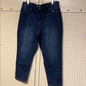 Terra & Sky Women's skinny ankle jeans 18 W